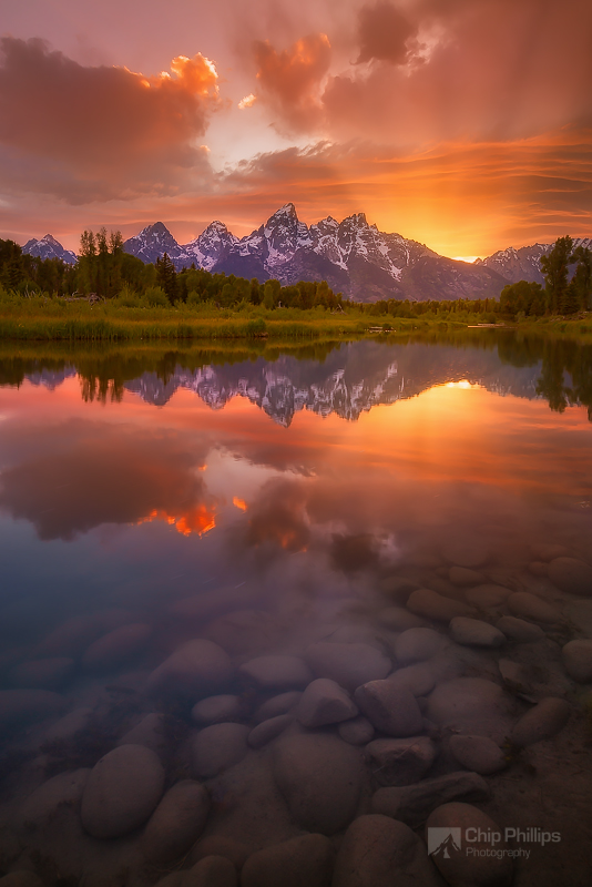 """Schwabacher Sunset-Vertical"""