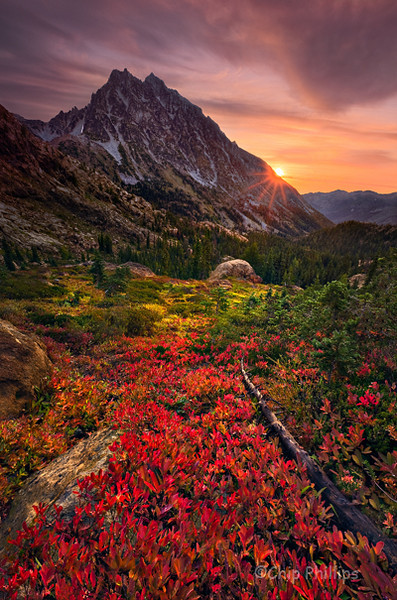 """Mount Stuart Sunburst""