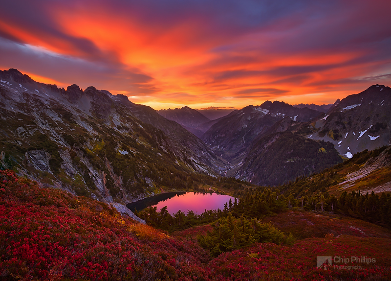 """North Cascades Sunrise""