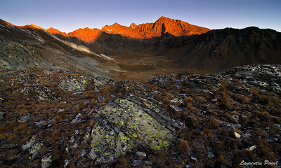Early in the morningPunta Nera(3683m),Grivola(3968m) and Punta Rossa(3625m) - Gran Paradiso,Italy