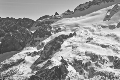 Marmolada Skiers 3351bw