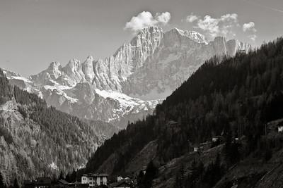 Monte Civetta 3436bw