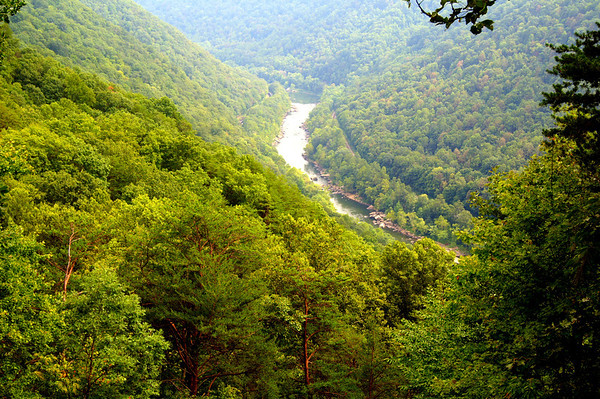 August 2012- New River Gorge