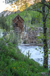 Crystal Mill in Summer