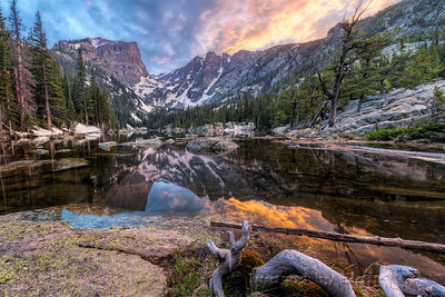 Dream Lake Sunset