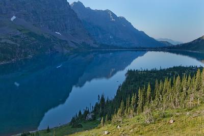 Lake Ellen Wilson Reflection 7501