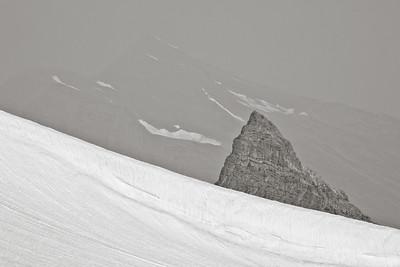 Little Matterhorn & Smoke 7319bw