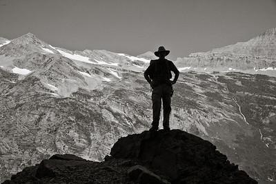 Glacier NP Hiker 7559bw
