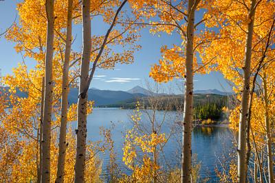 Dillon Reservoir Framed 1137