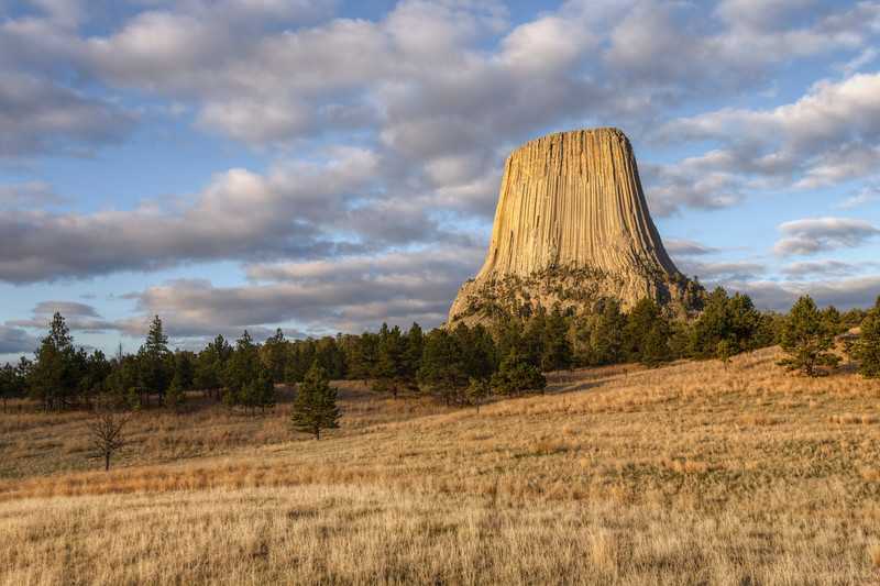 Day at Devil's Tower