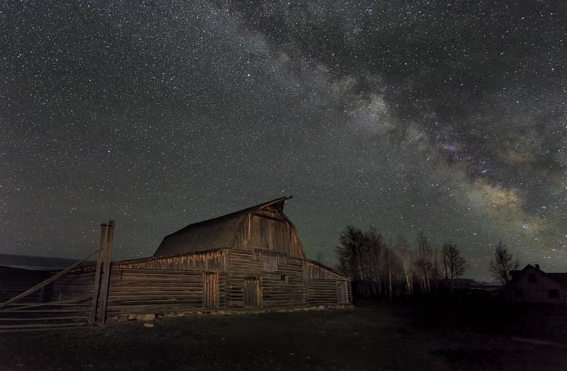 Moulton Barn Under the Milky Way