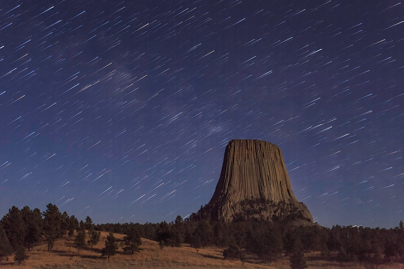 Stars Over Devil's Tower