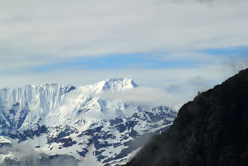 Closer view of Mt. Cooper