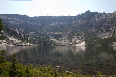 Bear Lake, Trinity Alps Wilderness, CA.
