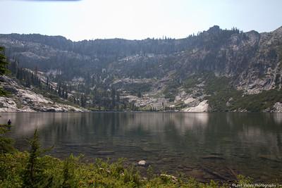 Bear Lake, Trinity Alps Wilderness, CA.