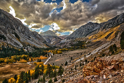 Tioga Pass, Lee Vining, California.