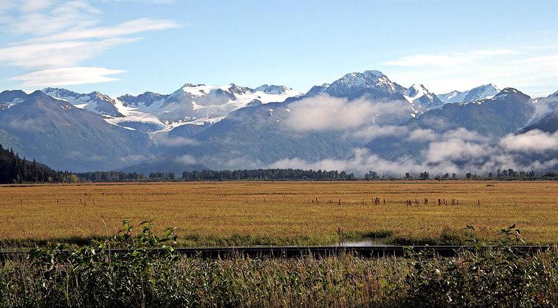 Chugach Range near Portage