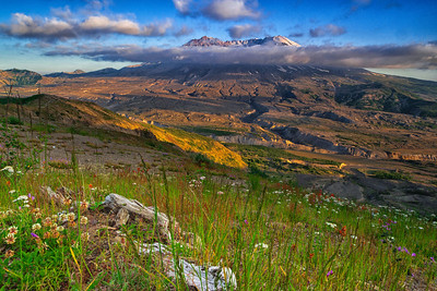 Mount St. Helens National Volcanic Monument, Washington.