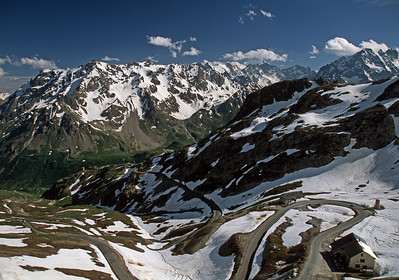Col du Galibier in the French Alps