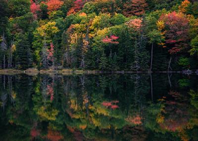 Dixville Notch Autumn Reflections
