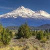 A bluebird day in Northern California in the area surrounding Mount Shasta.