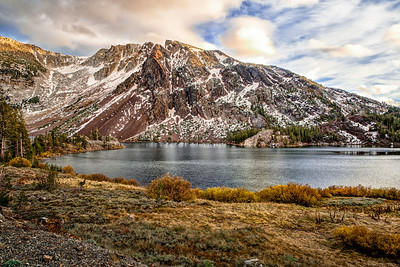 Ellery Lake in the Inyo National Forest of Mono County, California, Yosemite National Park.