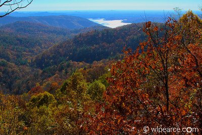 They're not called the Blue Ridge Mountains for nothin'...