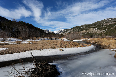 Moraine Park Valley, Rocky Mountain National Park, Mid-February