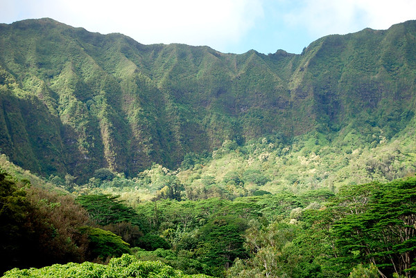 Ko'olau Mountain Range
