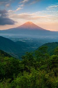 Warmth Of A Fuji Sunset