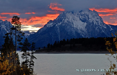 Mount Moran, Tetons, Jackson Hole Wyoming