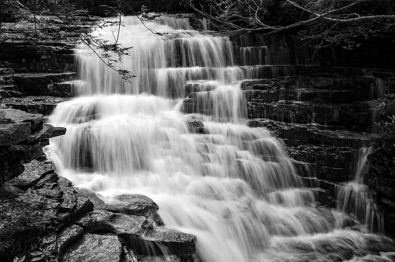 Upper Stonykill Falls after the big rains of 2018 Summer