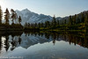 Mt Shuksan Morning Picture Lake 09-2012
