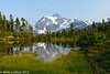 Mt Shuksan Picture Lake Evening 09-2012