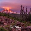 62  G Mt  Hood Sunset Wide