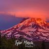 64  G Mt  Hood Sunset