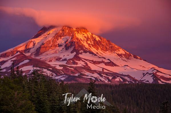 Mt. Hood Sunset 7.21.14