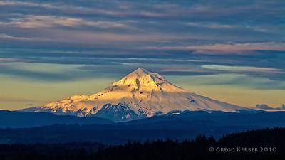 Mt. Hood Sunset (5/29/2010)