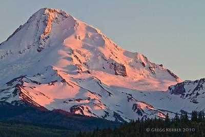 Mt. Hood at dusk