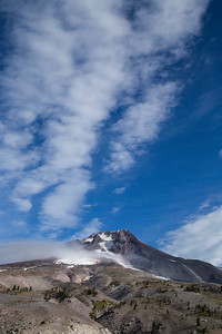 View from Mount Hood from Timberline Lodge, Oregon