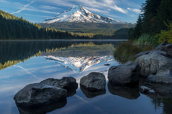 Trillium Lake Reflections