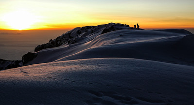 Sunrise over Kilimanjaro @ Hikers