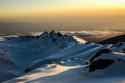 Mt Kilimanjaro Crater Rim