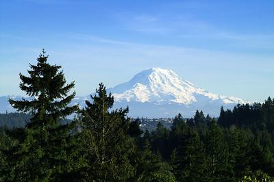 Mt. Rainier, Washington.