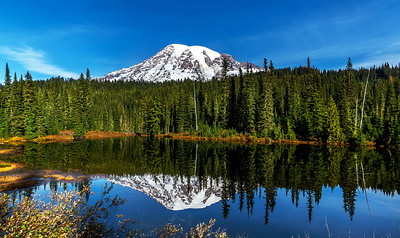 Mt. Rainier, Reflection Lake.