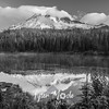 92  G Reflection Lake Sunrise BW