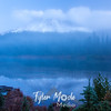 102  G Reflection Lake Sunrise Fog