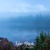 111  G Reflection Lake Sunrise Fog
