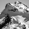 170  G Snowy Tatoosh Range BW C