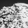 49  G Rainier Summit Close BW